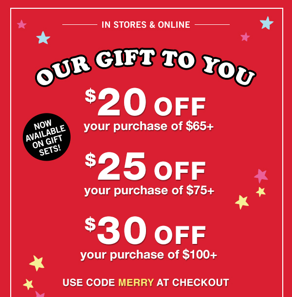 IN STORES & ONLINE